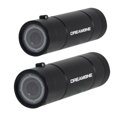 獵豹A1攝行車紀錄器 光圈影機+機車電源線 1080P 防水6G玻璃 (雙鏡頭版)