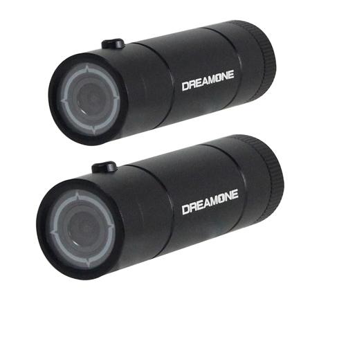 獵豹A1攝影機+機車電源線 1080P 防水6G玻璃行車紀錄器影片剪輯 (雙鏡頭版)