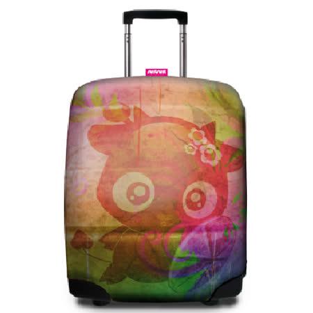 【Suitsuit】 荷蘭品牌行李箱套- Metso&Maru設計師款 躲貓貓(適用24-28吋行李箱)