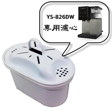 【元山】YS-826DW專用速淨濾心(二入包裝) YS-9826CT