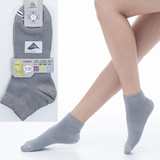 【KEROPPA】可諾帕舒適透氣減臭加大超短襪x灰色兩雙(男女適用)C98005-X