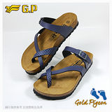 【G.P 休閒個性柏肯鞋】W763-20 藍色 (SIZE:35-39 共二色)