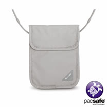 Pacsafe COVERSAFE X75 RFID 安全貼身掛頸暗袋(灰色)