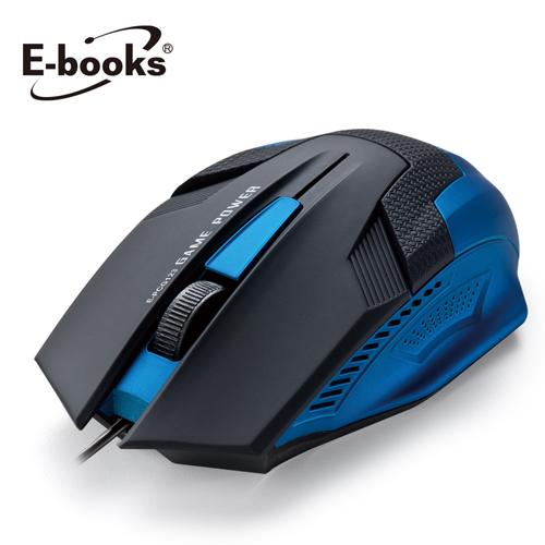 E~books電競1600CPI光學滑鼠M27