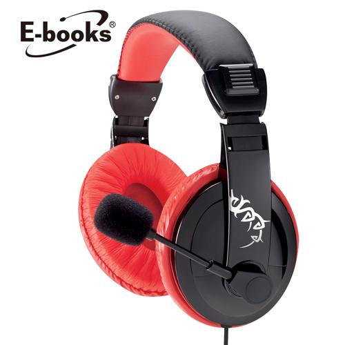 E~books電競頭戴耳機麥克風S48
