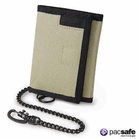 Pacsafe RFID Z50防盜皮夾(板岩綠)