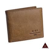 【H-CT】分離式卡片內夾儉約淺棕短夾(518#淺棕-Z)
