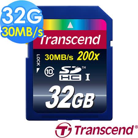 【創見Transcend】32G SDHC 30MB/s Class10 記憶卡