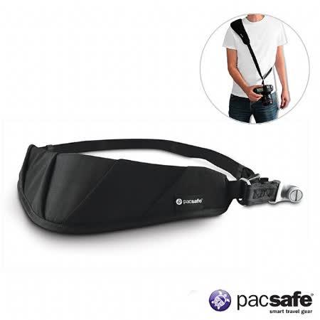 Pacsafe CARRYSAFE 150 相機防盜背帶(黑色)