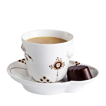丹麥Royal Copenhagen—繽紛唐草Espresso咖啡杯盤組(100ml)