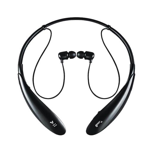 頸掛式無線藍芽耳機 人體工學設計 立體聲耳機