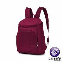 Pacsafe CITYSAFE CS350 休閒雙肩背包(19.1L)(莓紅色)