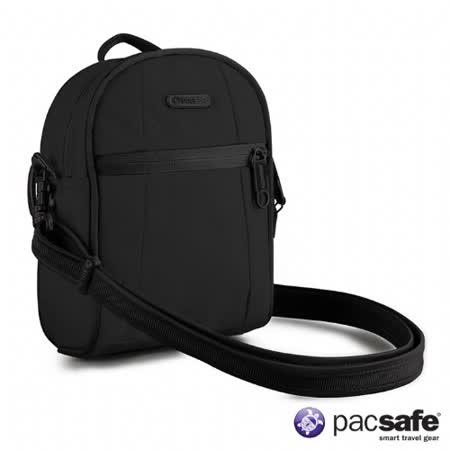 Pacsafe 2L METROSAFE100GII防盜單肩包(黑色)