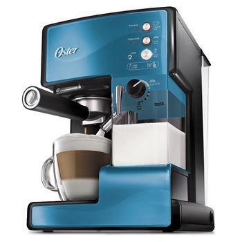 Oster奶泡大師義式咖啡機BVSTEM6602B藍