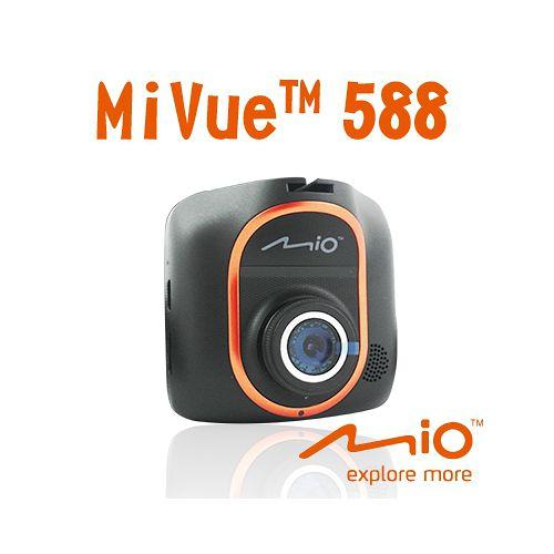 MIO MiVue 588 Sony Exmor 行車記錄器【原廠公司貨】(再送16G高速卡行車記錄器埋線+車用三孔+原廠強光濾鏡+讀卡機)