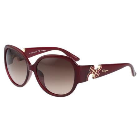 Salvatore Ferragamo- 時尚 太陽眼鏡(紅色)