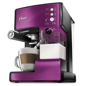 Oster奶泡大師義式咖啡機BVSTEM6602P紫