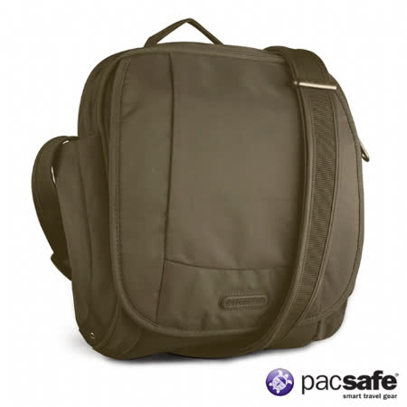 Pacsafe 7L METROSAFE 200GII防盜側背包(叢林綠)
