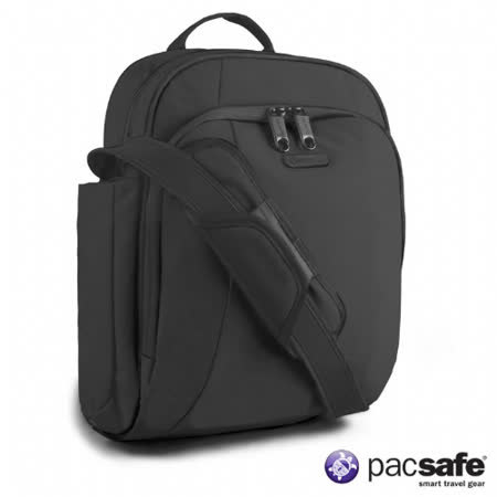 Pacsafe 8L METROSAFE 250GII防盜側背包(黑色)
