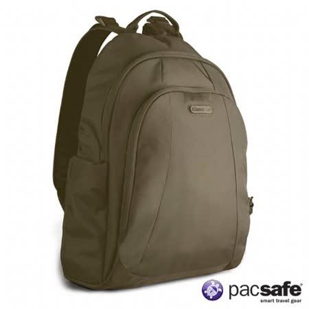 Pacsafe 13L METROSAFE350GII防盜後背包(叢林綠)