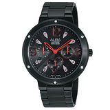 ALBA FASHION系列百變率真計時腕錶 (黑/晶鑽-38mm-VD75-X060R)國際碼:AP6231X1