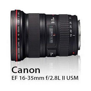 CANON EF 16-35mm F2.8L II USM 超廣角變焦鏡 (公司貨) 大三元系列-送B+W 82mm XS-PRO MRC UV 多層鍍膜保護鏡