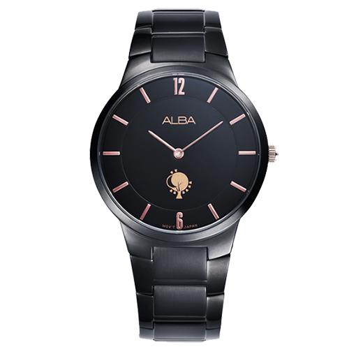 ALBA 愛情樹城市限訂女用 腕錶~黑38mmVX50~X287K^(ATAU93X1^)
