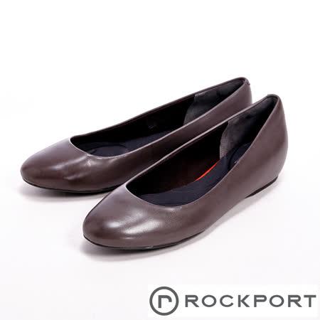 Rockport(女)全方位動能系列 / TMHW20 PLAIN PUMP 隱藏式楔型跟鞋-灰