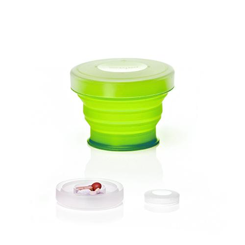 【Humangear】GoCup 隨身摺疊杯 (電 風扇 特價小) -萊姆綠