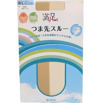 【波克貓哈日網】日本製絲襪◇日本滿足Fukuske◇《露趾涼鞋可用》M~L