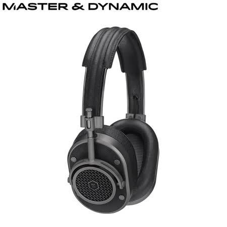 Master&Dynamic高階耳罩式耳機(MH40)(黑/鐵灰)送藍芽智慧拍照遙控器