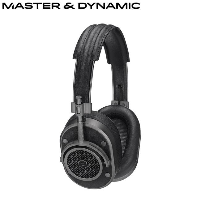 Master Dynamic高階耳罩式耳機^(MH40^)^(黑鐵灰^)送藍芽智慧拍照遙控