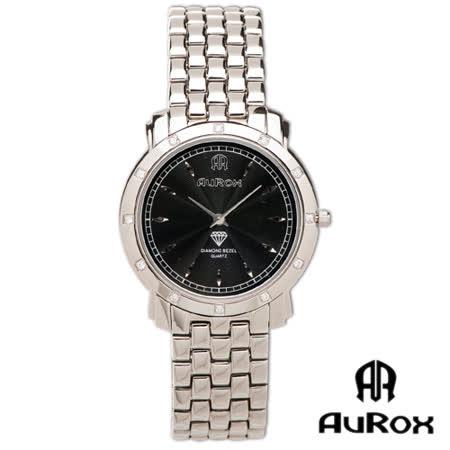 【開箱心得分享】gohappyAuRox歐銳時 精典都會超薄不銹鋼石英鑽錶(AR21026-黑)評價怎樣happy go 會員