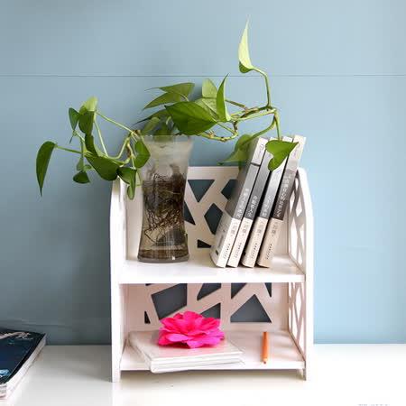 【Osun】DIY木塑板置物架 水立方桌上型層架(CE-178_SLF-30F)
