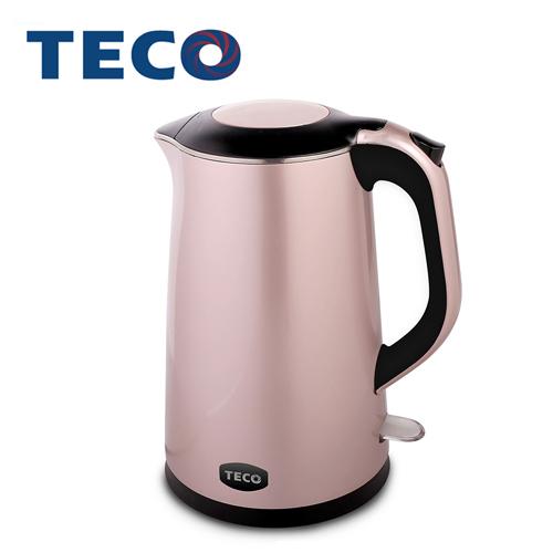【TECO東元】1.4L雙層防燙不鏽鋼快煮壺 XYFYK1401