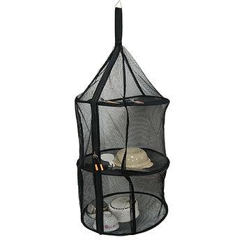 三層餐櫥置物網籃