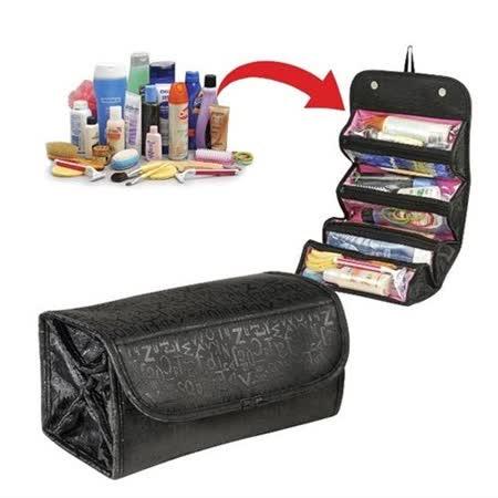 【PS Mall】 外貿款摺疊大容量化妝收納包_2個 (J2277)
