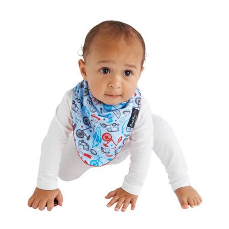 【Mum 2 Mum】雙面時尚造型口水巾圍兜-男孩/紅