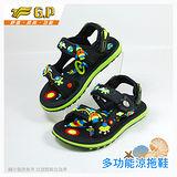 [GP]快樂童鞋-磁扣兩用涼鞋-G6966B-60 綠色(SIZE:24-32 共四色)