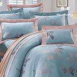【韋恩寢具】天絲鋪棉七件式床罩組-雙人/飄絮