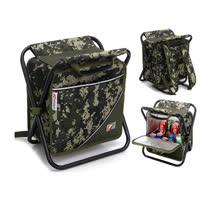 PUSH! 戶外休閒用品便攜背式18升保溫包冰包椅野餐包釣魚椅背包U37