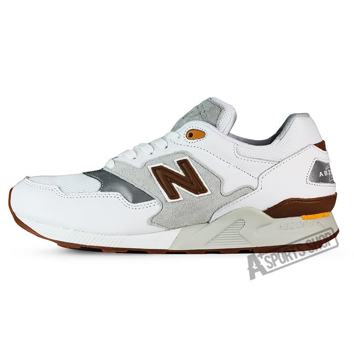 NEW BALANCE (男) 紐巴倫 TIER 2 復古鞋 白-ML878ATA