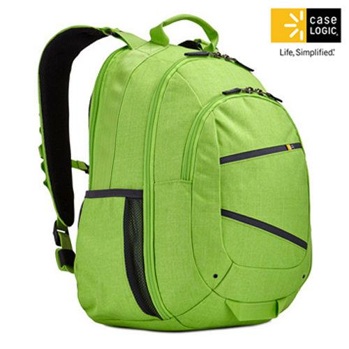 美國Case Logic 雙肩15.6吋10.1吋平板電腦後背包BPCA~315蘭姆綠色