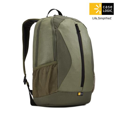 美國Case Logic 雙肩15.6吋10.1吋平板電腦後背包IBIR~115綠色