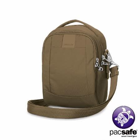 Pacsafe METROSAFE LS100 防盜單肩隨身包(3L)(沙褐)