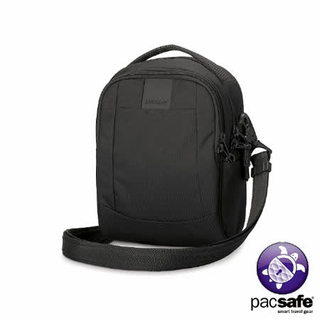 Pacsafe METROSAFE LS100 防盜單肩隨身包(3L)(黑色)