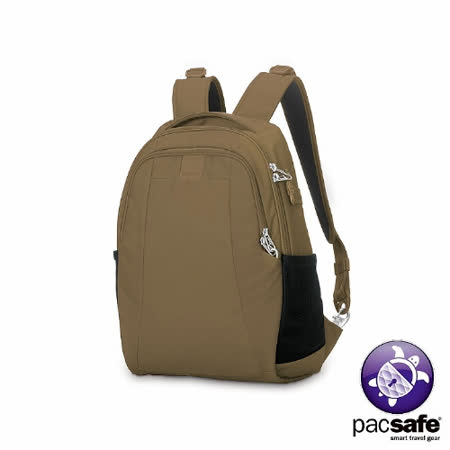 Pacsafe METROSAFE LS350 防盜雙肩背包(15L)(沙褐)
