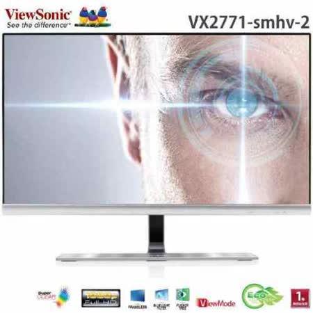 ViewSonic優派 VX2771-smhv-2  27吋IPS時尚旗艦顯示器