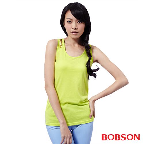 BOBSON 女款手縫亮片背心^(25072~40^)