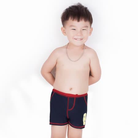 【曼黛瑪璉】純色男童短褲(古著藍)